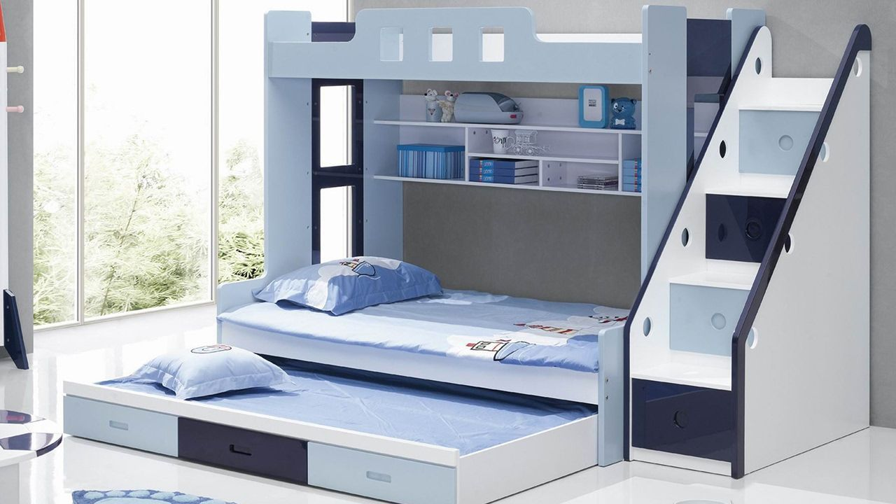 Loft bed with desk pottery barn  gray bedding room ideas beddingideas  Bedding Ideas for Small Room