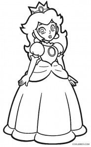 Princess Peach Coloring Pages Mario Coloring Pages Princess