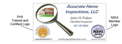 Business card inspector inspector database online tool that business card inspector inspector database online tool that makes finding home inspectors reheart Images