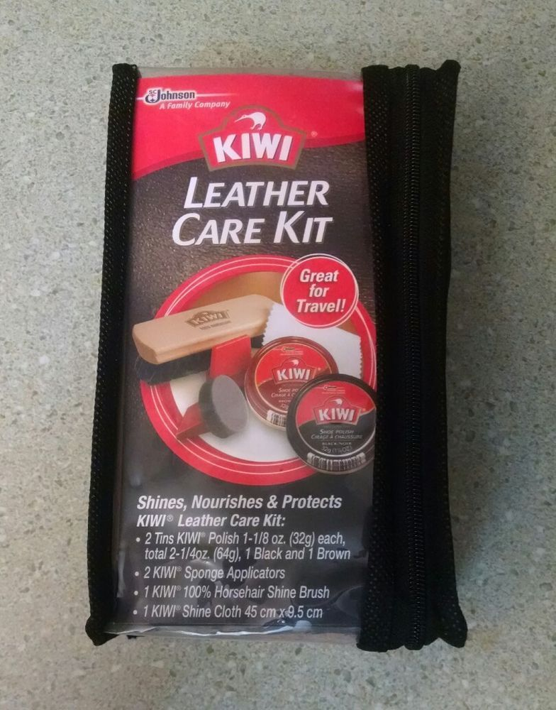 2018 shoes half price store KIWI SHOE SHINE LEATHER CARE KIT - GREAT FOR TRAVEL NEW #KIWI ...