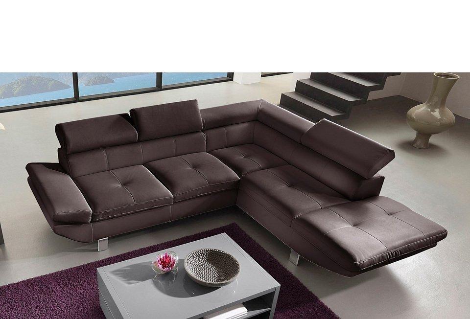 Polsterecke, wahlweise mit Bettfunktion Jetzt bestellen unter   - gemütliches sofa wohnzimmer