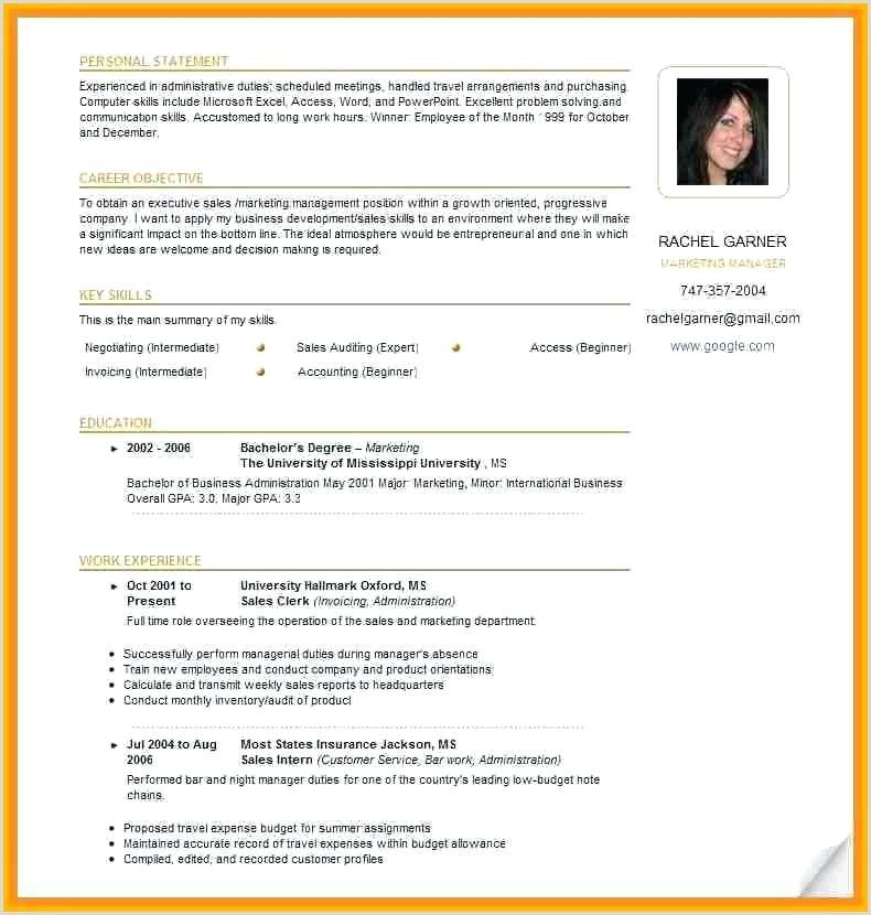 Canadian Resume Template Word Standard Cv Format Cv Format Standard Cv
