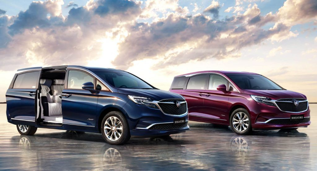 Chinas 2020 Buick Gl8 Avenir Is One Expensive Minivan At 65k A Couple Of Weeks After The Facelifted Buick Gl8 Avenir Premiered In In 2020 Buick Gl8 Mini Van Buick