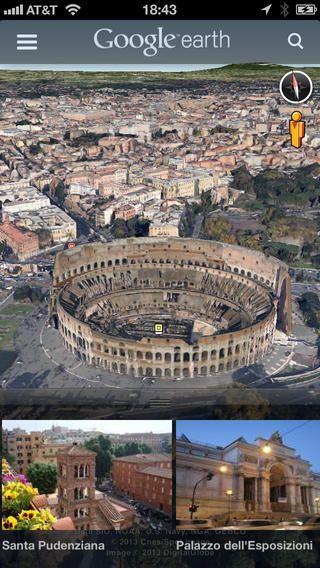 Google Earth App: https://itunes.apple.com/ca/app/google-earth/id293622097?mt=8&affId=1415352