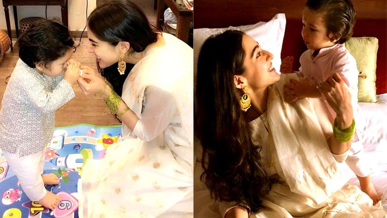 For Taimur Ali Khan Kareena Kapoor Khan Is Amma And Sara Ali Khan Is Gol Yes Gol Saif Ali Khan A Sara Ali Khan Taimur Ali Khan Kareena Kapoor Khan