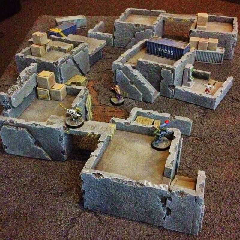 15mm terrain from spacejacker 40k terrain, Wargaming