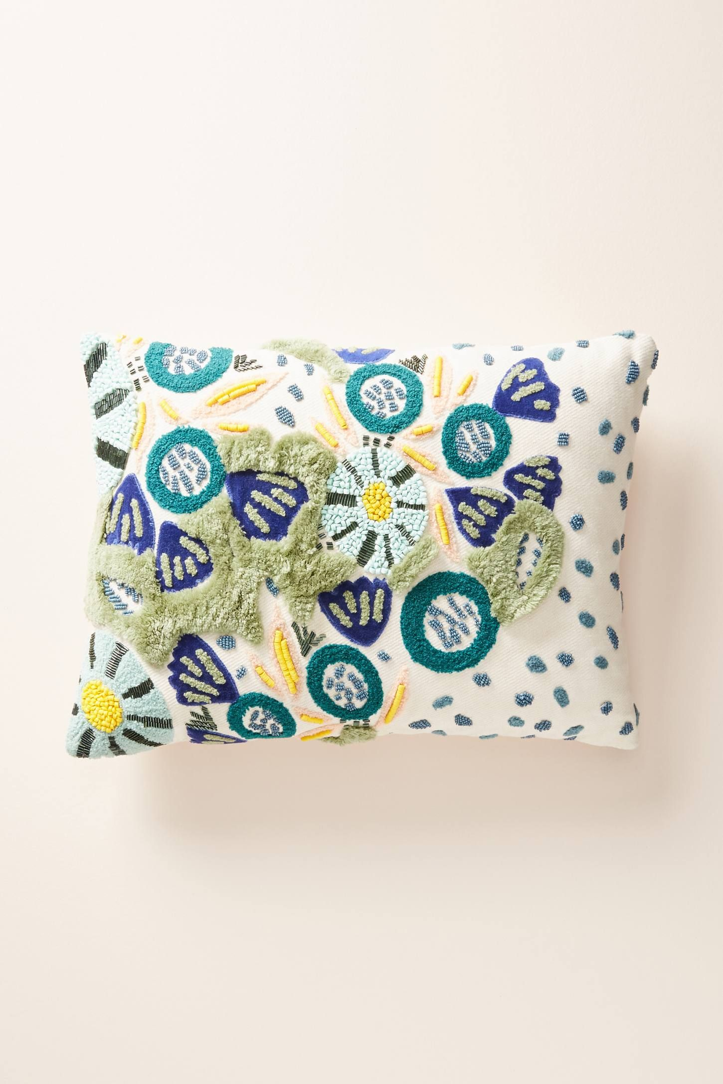 Embellished cleo pillow living room pinterest pillows