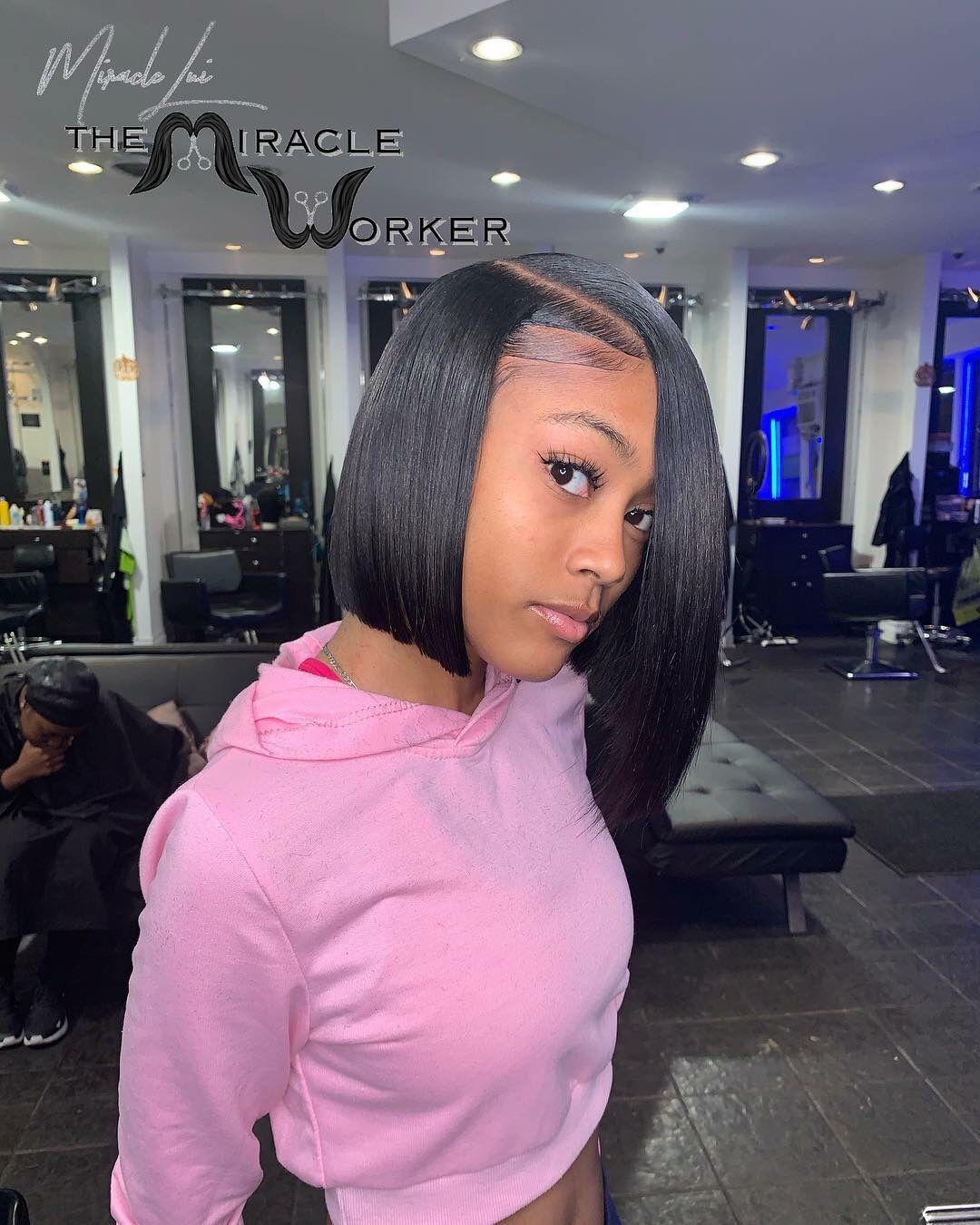 Pin By Tay On Hair Bob Hairstyles Girl Hairstyles Natural Hair Styles