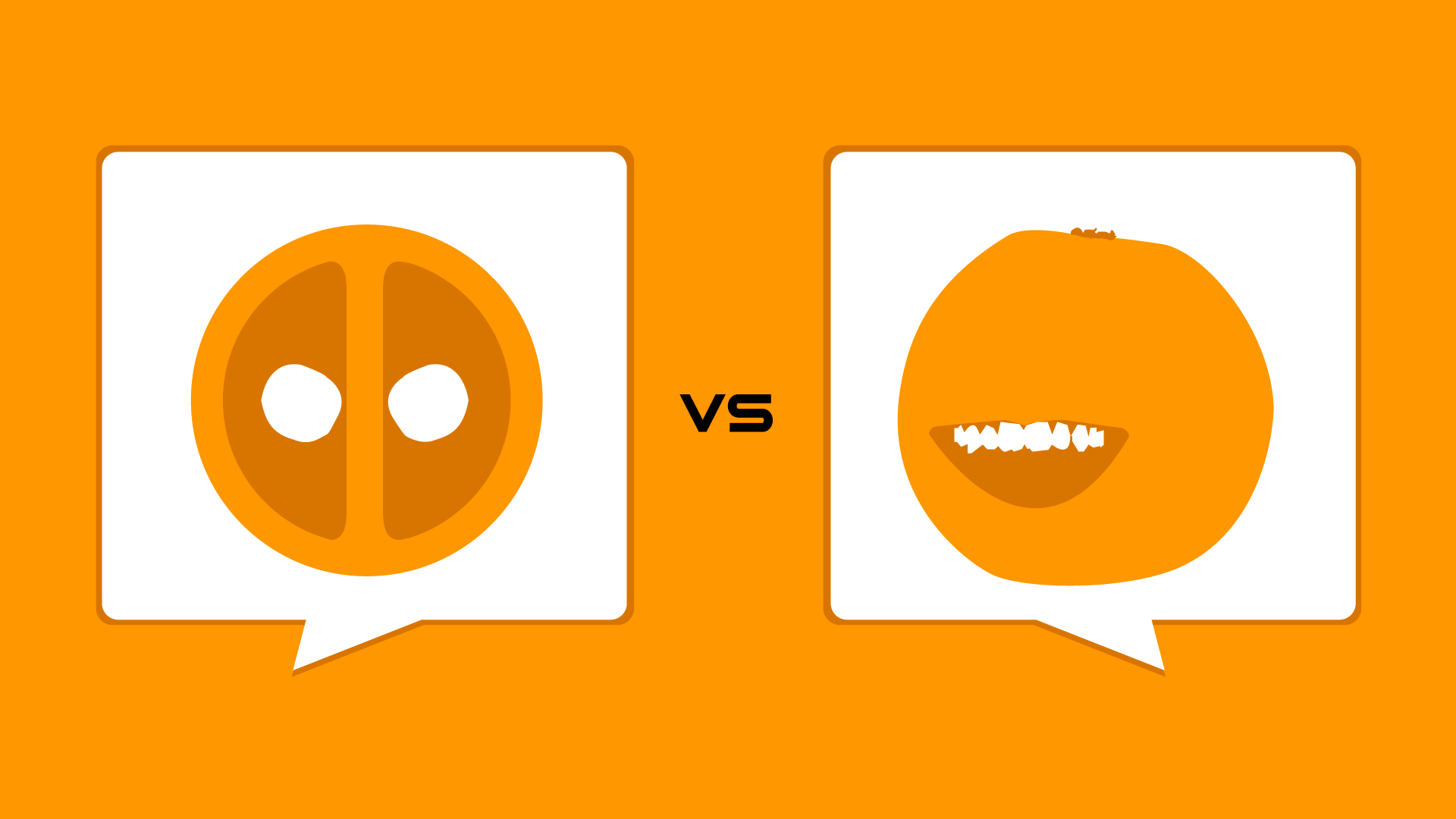 Deadpool Verse Annoying Orange Annoying Orange Deadpool Deadpool Face