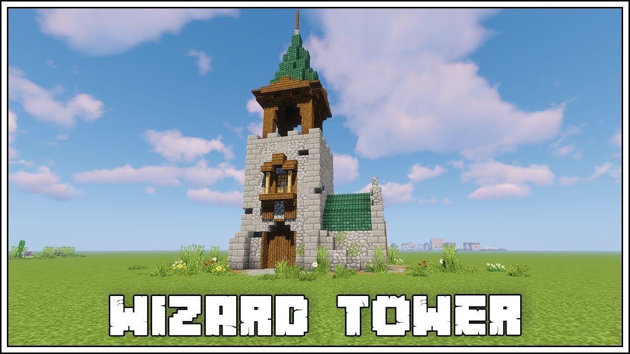Minecraft Wizard Tower Tutorial Minecraft Medieval