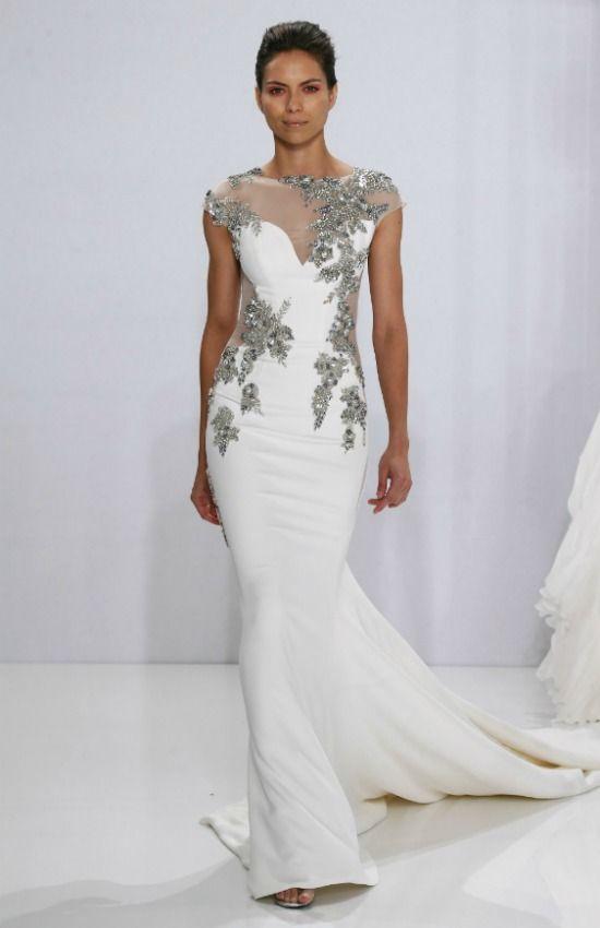 Los vestidos de novia más bonitos de la New York Bridal Week | Los ...