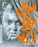 The Man Who Knew Too Much [Criterion Collection] [Blu-ray] [English] [1934]