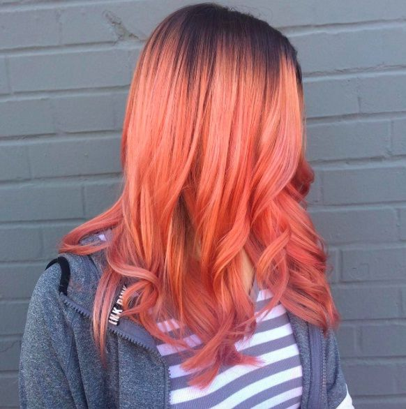 Color Hair Women New: The Blorange is at the top of the trend, you must try