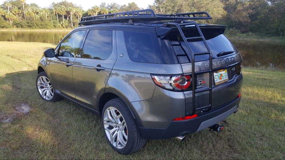 LR Discovery Sport Roof Rack — Voyager Racks Land