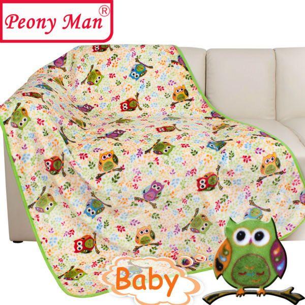 couverture flanelle bébé Haute qualité couverture flanelle bébé 100 * 140 enfants Cartoon  couverture flanelle bébé