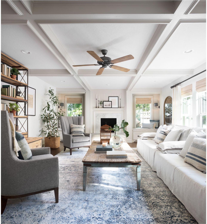 Living Room Update Ceiling Fan Swap