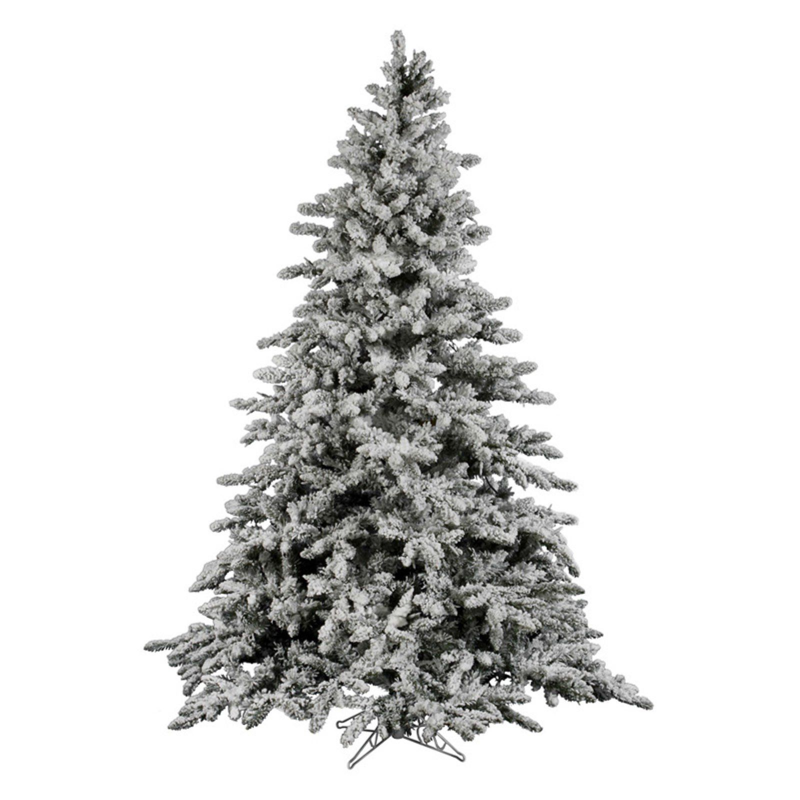 Vickerman 14 Ft Flocked Utica Fir Christmas Tree Flocked Christmas Trees Flocked Artificial Christmas Trees Fir Christmas Tree