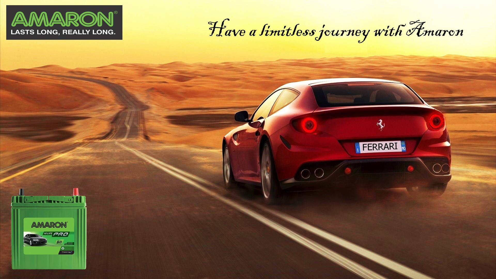 Have Limitless Journey With Amaron Ferrari Wallpaper Ferrari Ferrari Car