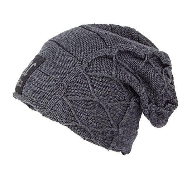 3e794e7bab3 Gender  For Men Style  Knitted Hat Pattern  NC Letter Material  Knitting  Weight