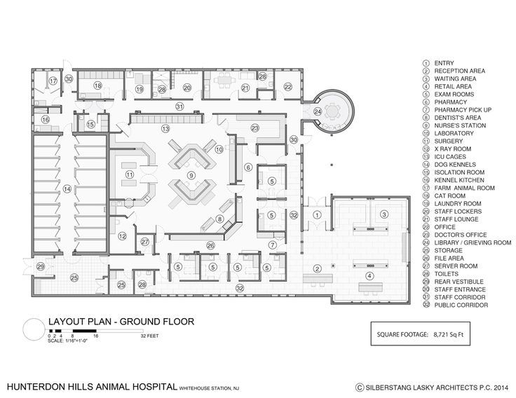 Image result for exam rooms with two entry doors floor