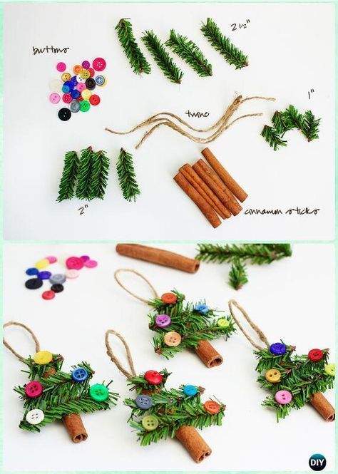 Photo of 20 Easy DIY Christmas Ornament Craft Ideas For Kids to Make #diychristmasornaments