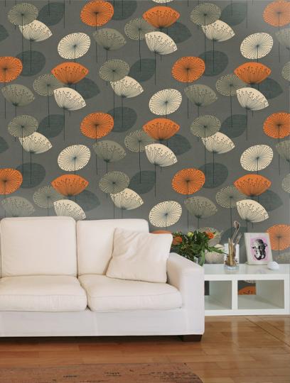 Dandelion Clocks   Options 10   Sanderson   Wallpaper