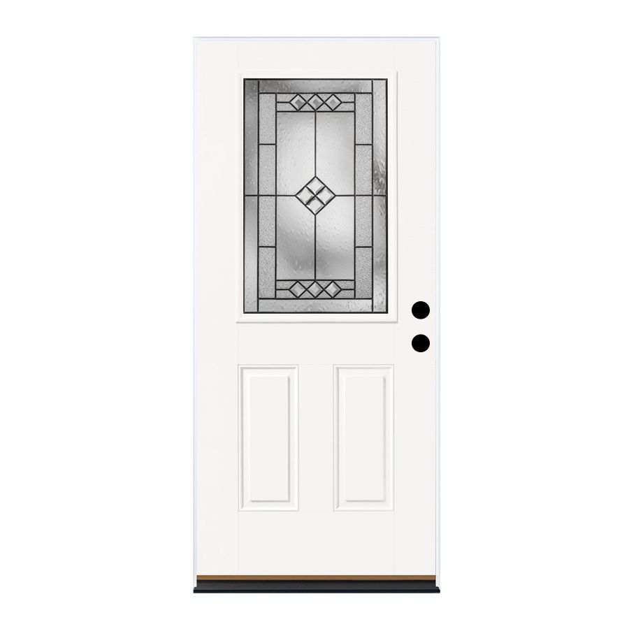 ThermaTru Benchmark Doors Panel Insulating Core Half Lite Right