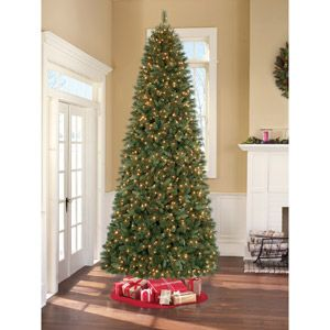 Holiday Time Pre Lit 12 Prescott Pine Artificial Christmas Tree Clear Lights Colorful Christmas Tree Artificial Christmas Tree