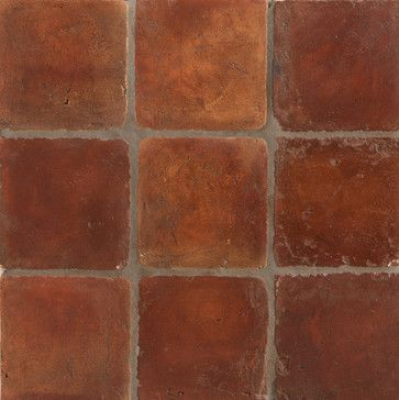 Spanish Handmade Terracotta Tile Mediterranean Floor Tiles Los