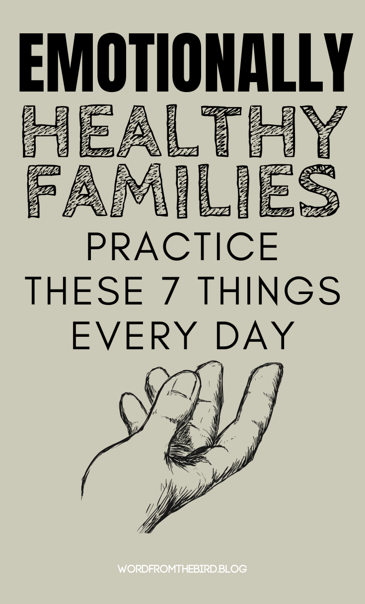 Positive parenting advice for raising healthy kids | Find out what you can do to nurture a healthy family life by implementing these 7 daily activities. Here are 7 emotionally bonding things for families to do on a regular basis. #parenting #advice #tips #hacks #raisingkids #momlife #momadvice