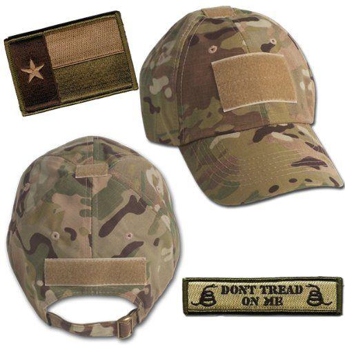 9ce7fcc2 Amazon.com: Texas Tactical Hat & Patch Bundle (2 Patches + Hat ...
