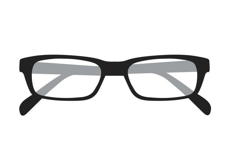 Folded Eyeglasses Vector Eyeglasses Vector Free Vector Graphics