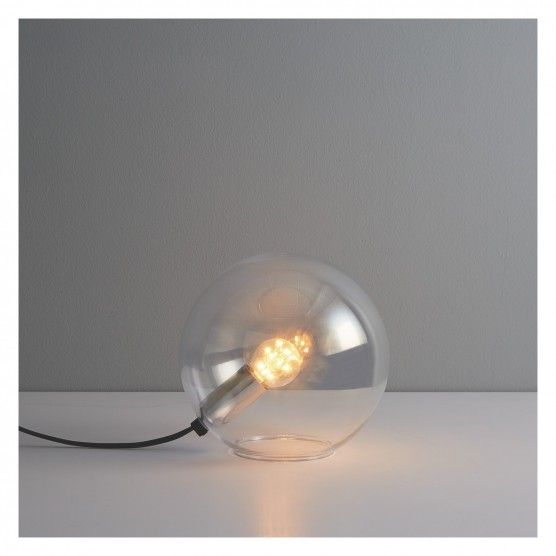 Buy Habitat Louie Glass Table Lamp