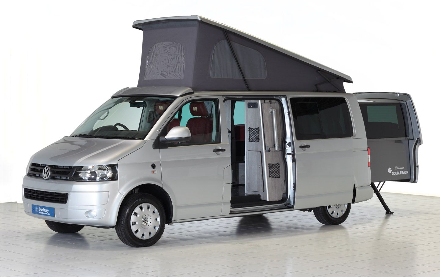 doubleback revolutionalry vw t5 campervan conversion from danbury motorcaravans interesting. Black Bedroom Furniture Sets. Home Design Ideas