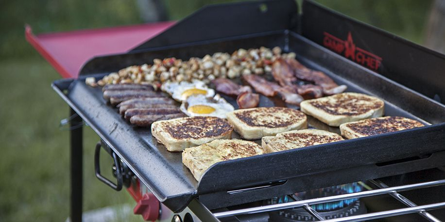 How To Care For Your Griddle Cooking Stone Outdoor Griddle Recipes Campfire Food