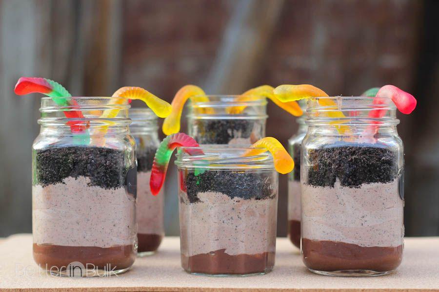 Mason Jar Dirt Pudding