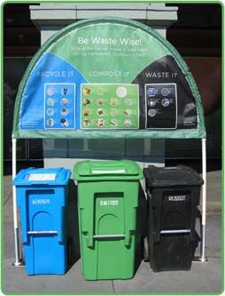 Would love to offer this...Neat!  Recycle~Compost~Waste Bins