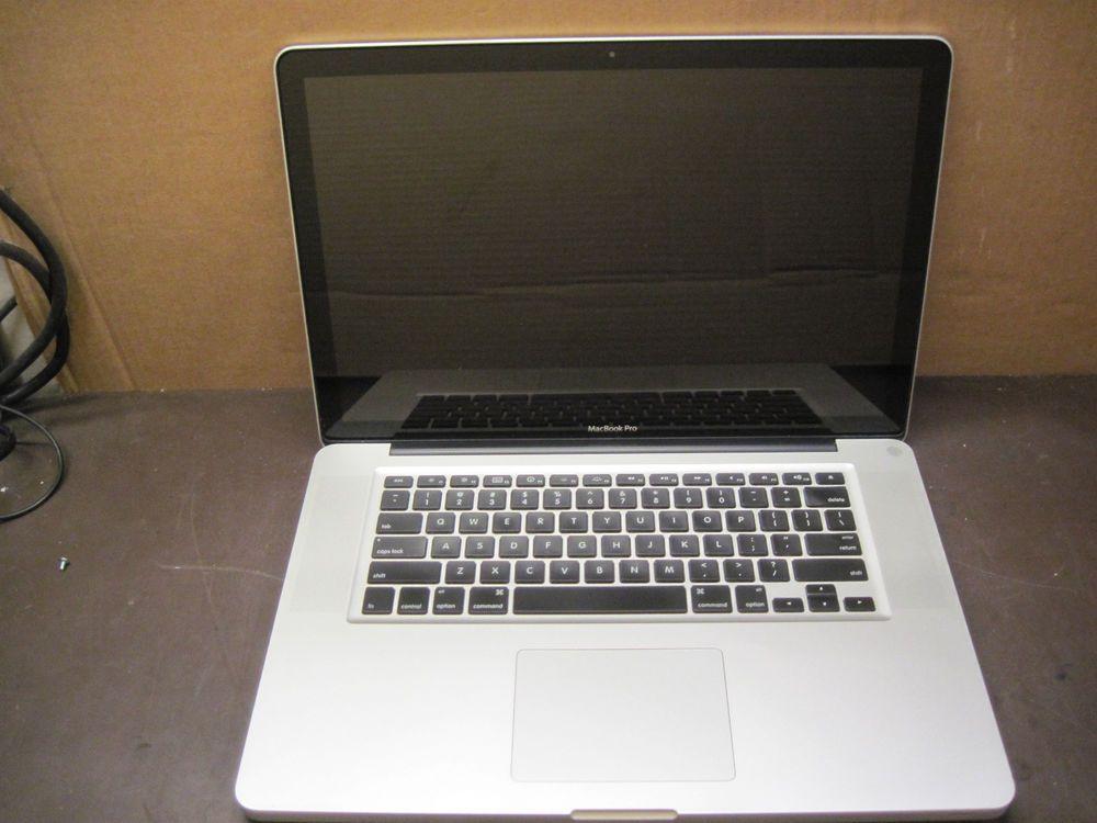 Apple Macbook Pro A1286 Early 2011 I7 2 2ghz 750gb Hdd 8gb Ram No O S A12 Macbook Pro A1286 Macbook Pro Apple Macbook Air