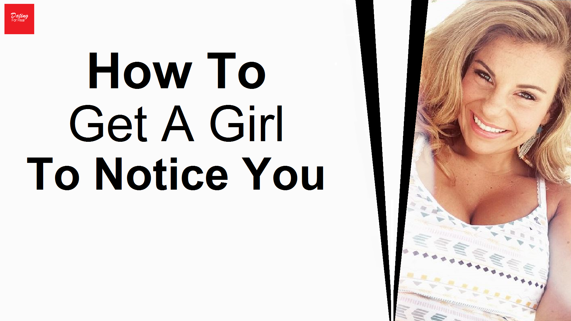 Dating tip for boy