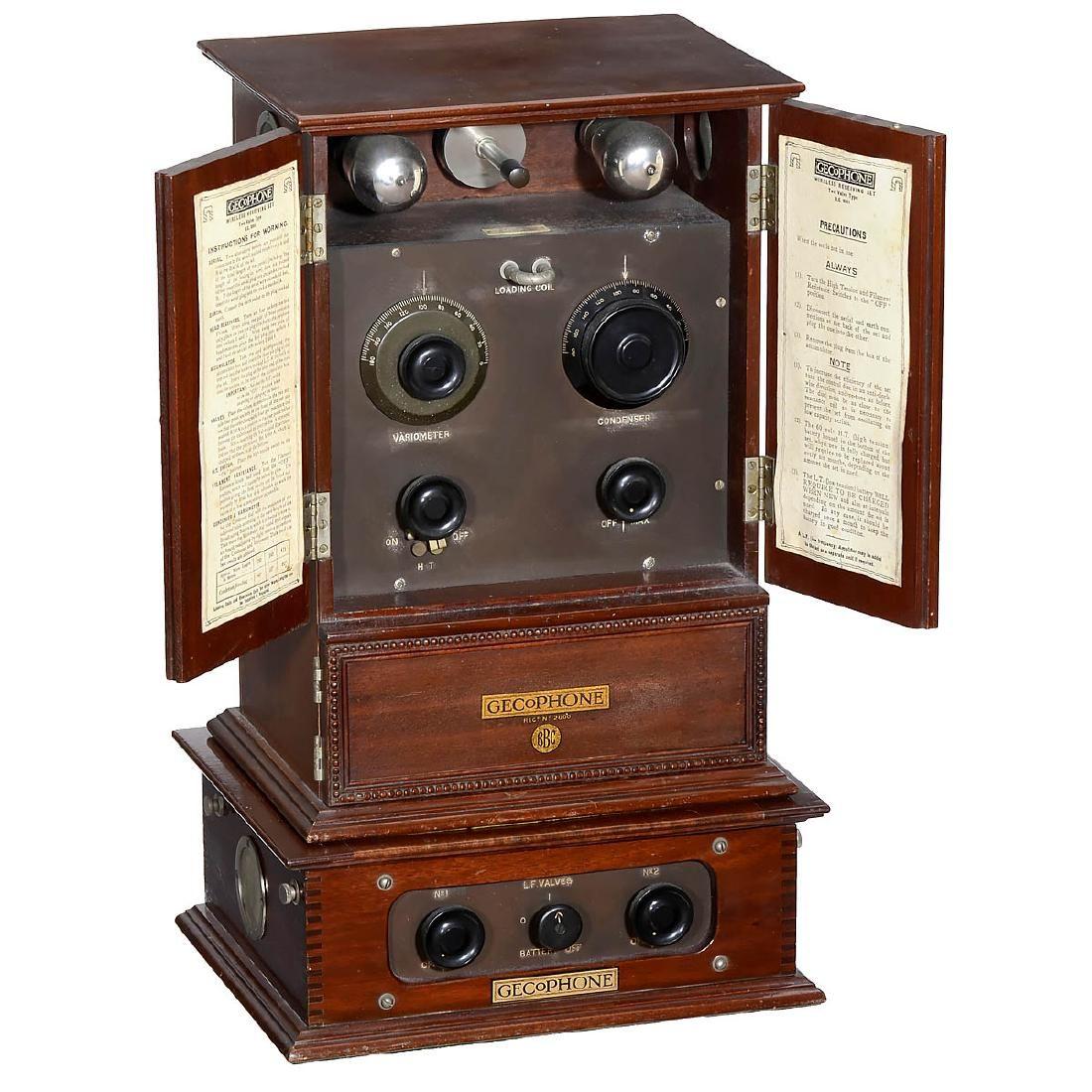 Gecophone Bc 2001 Radio 1922 With Images Antique Radio