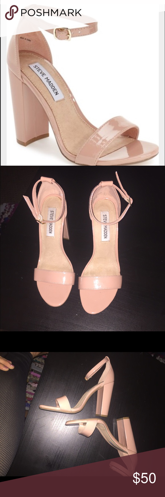 """Steve Madden """"Carrson"""" Steve Madden """"Carrson"""" size 6.5. Happy to negotiate, no trades Steve Madden Shoes Heels"""