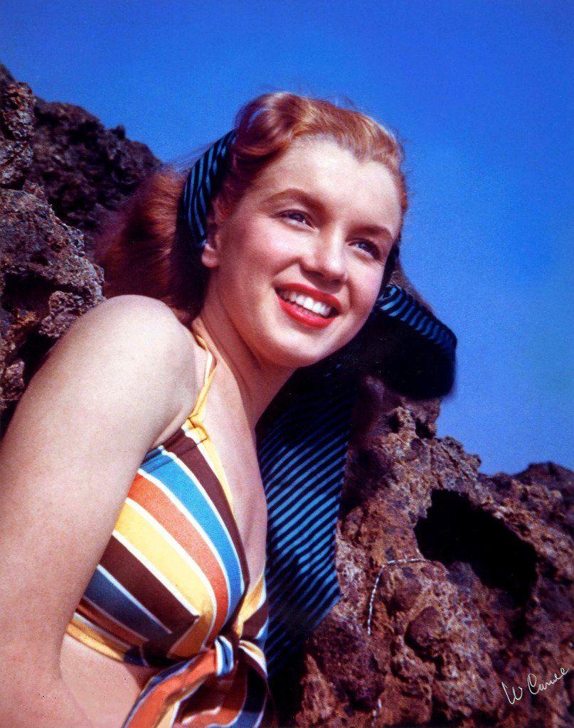 Monroe laughing marilyn