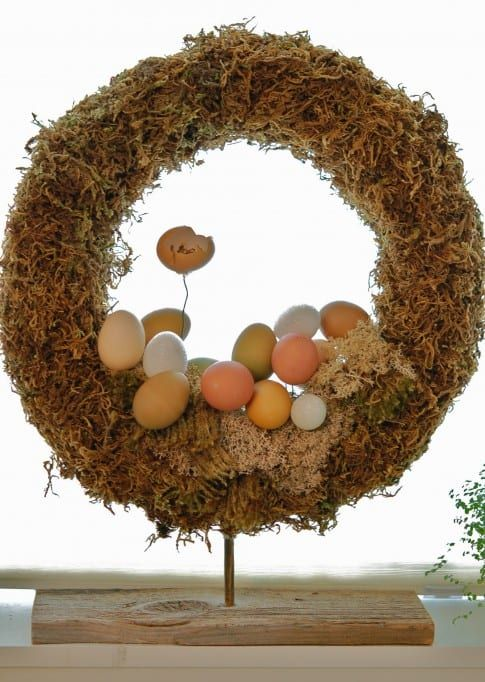 Photo of Inspirational Spring Easter Wreaths