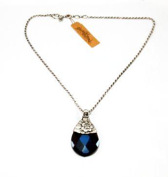 Lucky brand blue stone pendant necklace splash of color lucky brand blue stone pendant necklace aloadofball Image collections