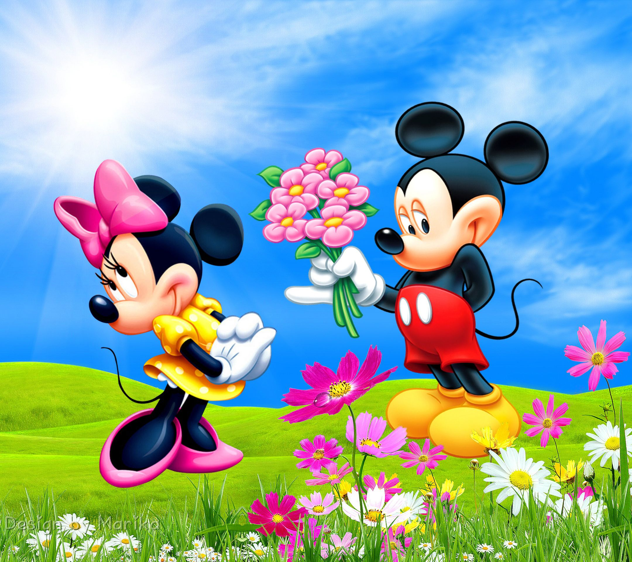 Mickey Minnie Desktop Background HD wallpapers Mickey
