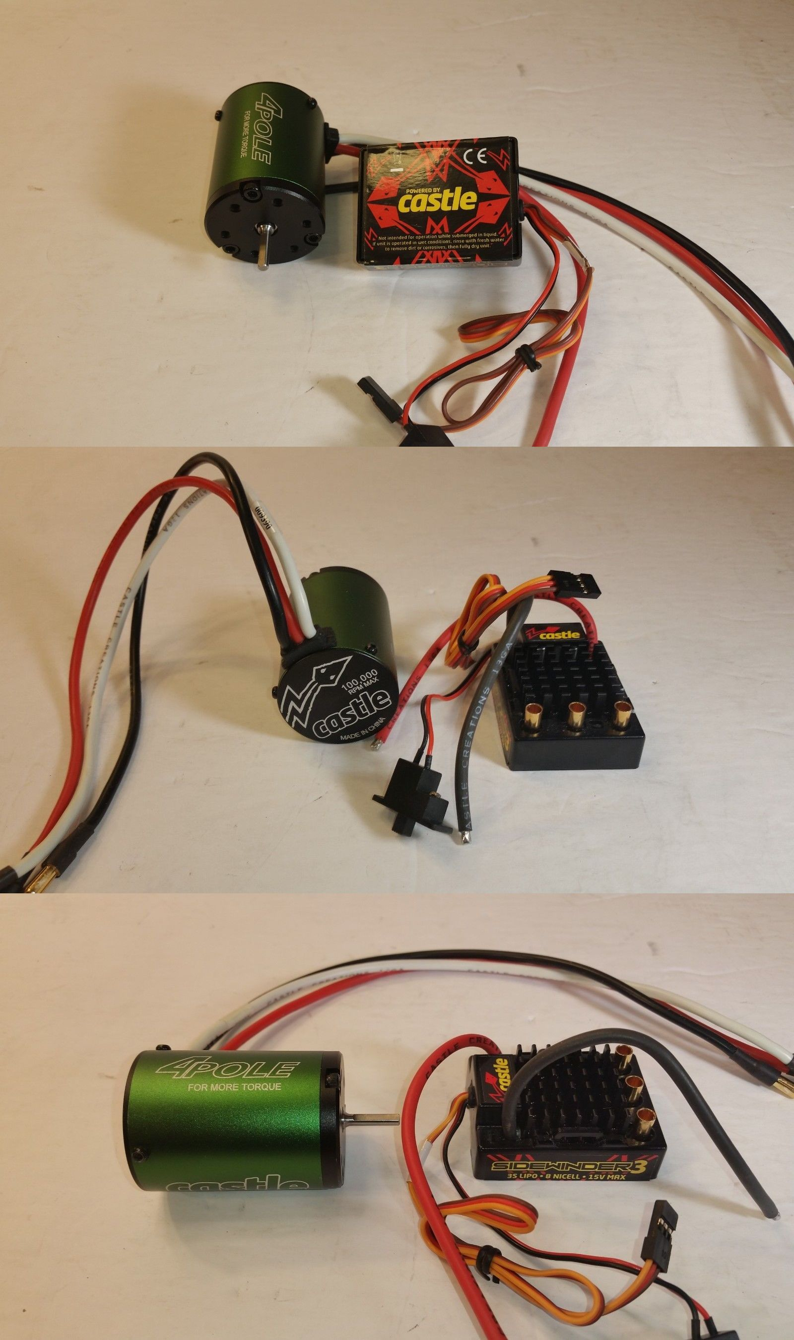 Speed Controllers 74312: New Castle Creations 1 10