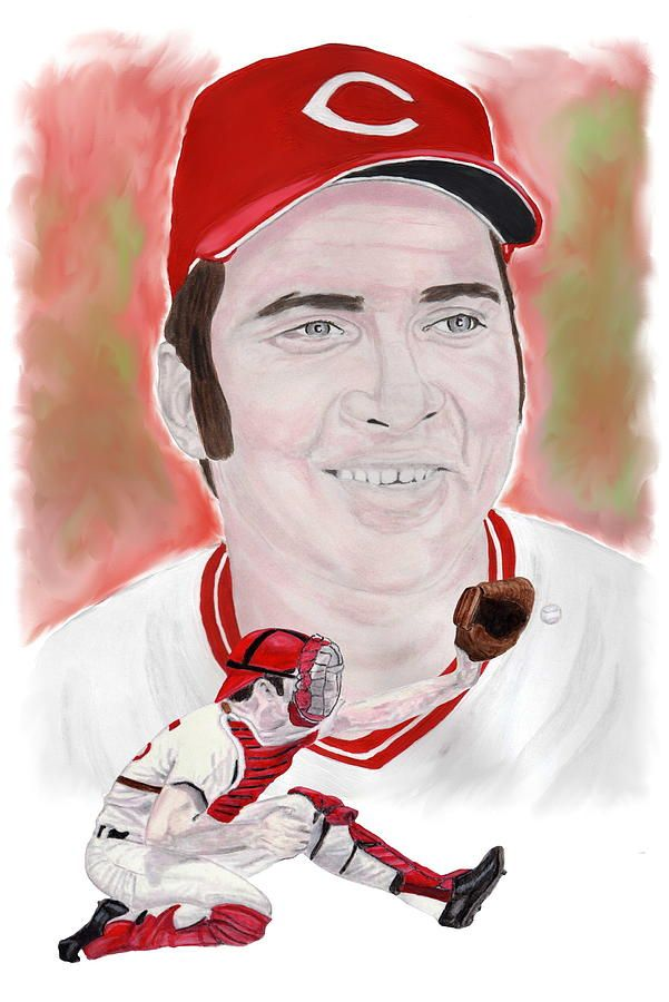 Johnny Bench by Steve Ramer