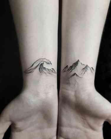 f03615830 50 Simple & Elegant Tattoo Ideas For Women   tats   Tattoos, Ocean ...