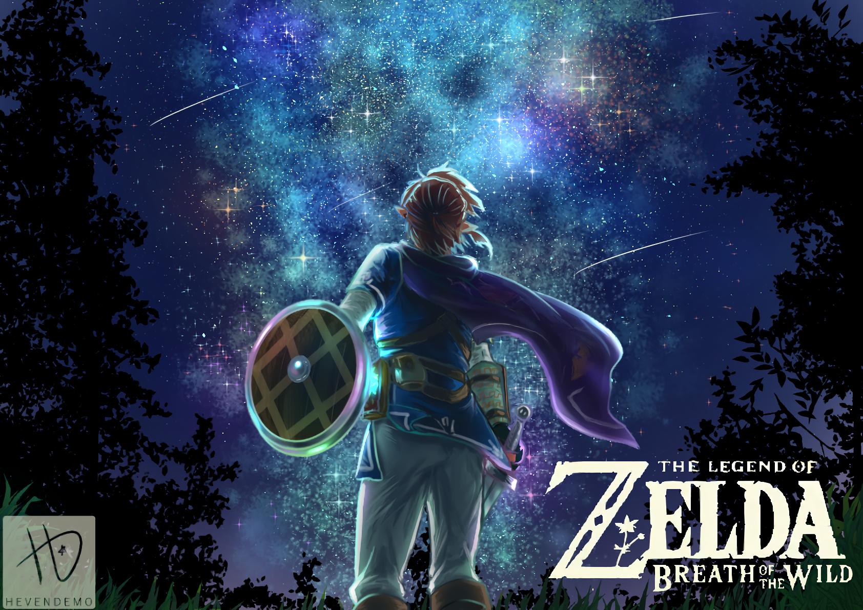 1684x1190 The Legend Of Zelda Breath Of The Wild Wallpaper