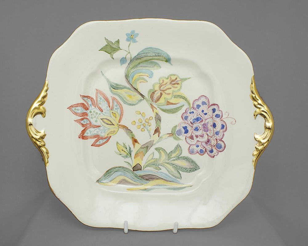 Spode Vintage China Cake Plate Chinese Rose Possibly Handpainted 1960s Free Post Uk This Is Such An Unusual Pie Vintage Tableware Spode Cake Stand Decor